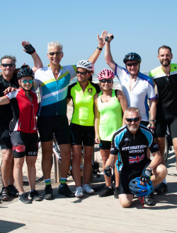 The Hairdressers' Charity Bike Ride