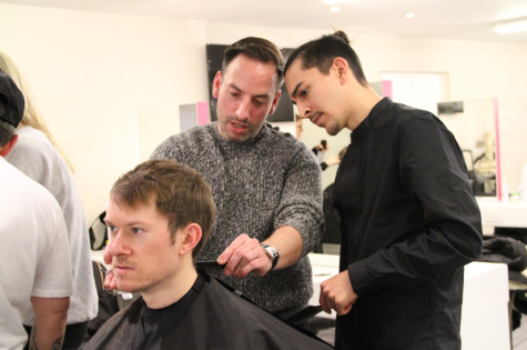 Men's Hair Workshop, London 22.1.18 2