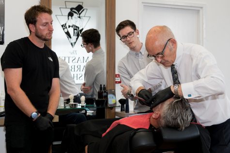 Barber Project Master Beards and Shaves 9