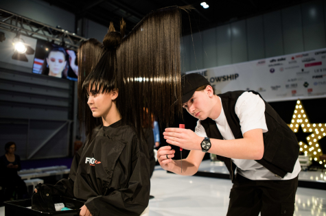 The Fellowship for British Hairdressing Takes to the Stage at Salon International  8
