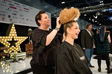 The Fellowship for British Hairdressing Takes to the Stage at Salon International  13