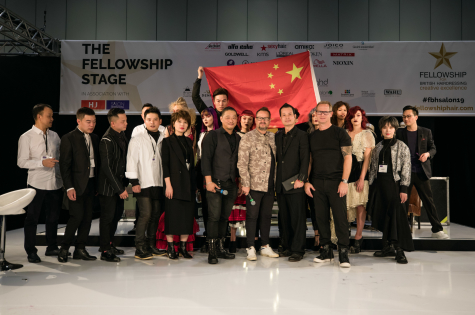 The Fellowship for British Hairdressing Takes to the Stage at Salon International  16