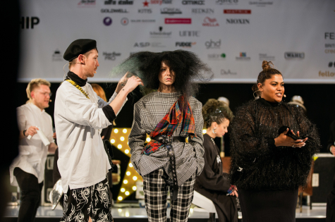 The Fellowship for British Hairdressing Takes to the Stage at Salon International  30