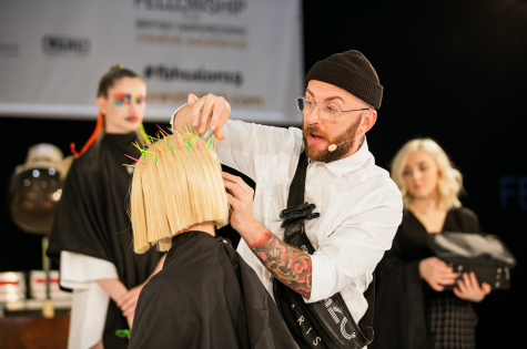 The Fellowship for British Hairdressing Takes to the Stage at Salon International  37