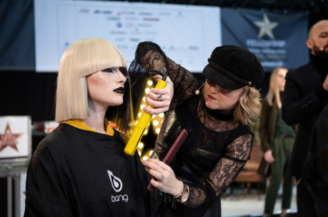 Fellowship for British Hairdressing Present for Pro Hair Live 6