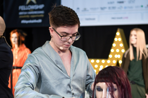 Fellowship for British Hairdressing Present for Pro Hair Live 7