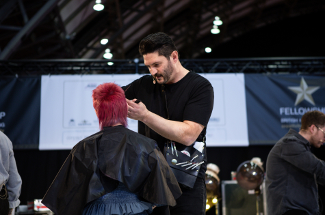 Fellowship for British Hairdressing Present for Pro Hair Live 11