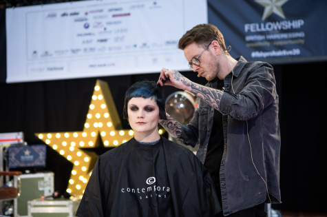 Fellowship for British Hairdressing Present for Pro Hair Live 14