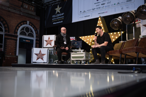 Fellowship for British Hairdressing Present for Pro Hair Live 15