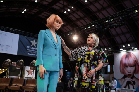 Fellowship for British Hairdressing Present for Pro Hair Live 17