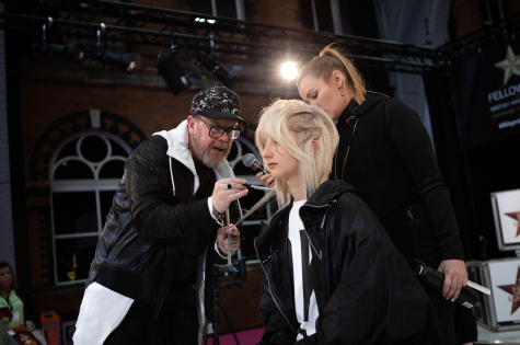 Fellowship for British Hairdressing Present for Pro Hair Live 28