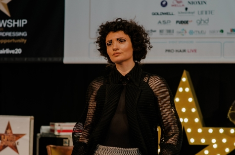 Fellowship for British Hairdressing Present for Pro Hair Live 32