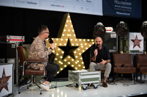 Fellowship for British Hairdressing Present for Pro Hair Live 33