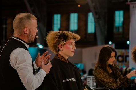 Fellowship for British Hairdressing Present for Pro Hair Live 34