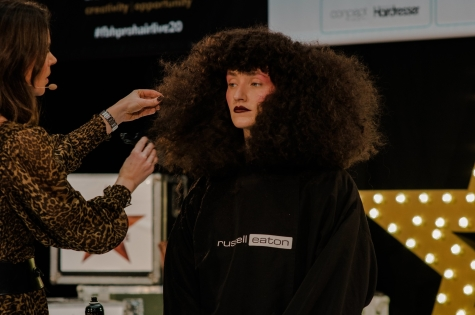 Fellowship for British Hairdressing Present for Pro Hair Live 38