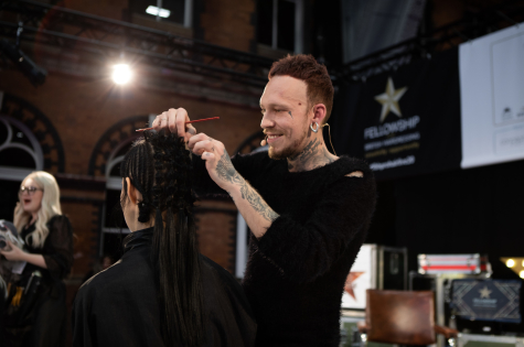Fellowship for British Hairdressing Present for Pro Hair Live 42