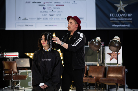 Fellowship for British Hairdressing Present for Pro Hair Live 44