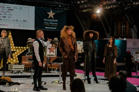 Fellowship for British Hairdressing Present for Pro Hair Live 49