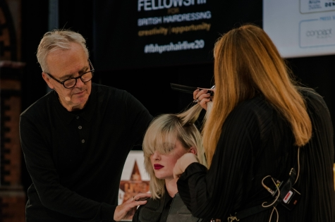 Fellowship for British Hairdressing Present for Pro Hair Live 53