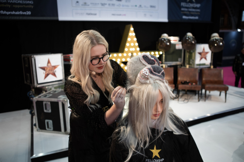 Fellowship for British Hairdressing Present for Pro Hair Live 54
