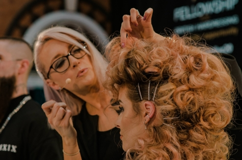 Fellowship for British Hairdressing Present for Pro Hair Live 56