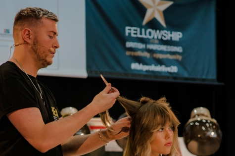 Fellowship for British Hairdressing Present for Pro Hair Live 55