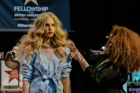 Fellowship for British Hairdressing Present for Pro Hair Live 57