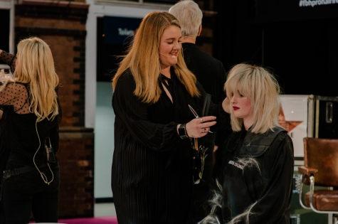 Fellowship for British Hairdressing Present for Pro Hair Live 59