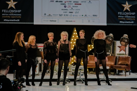 Fellowship for British Hairdressing Present for Pro Hair Live 61