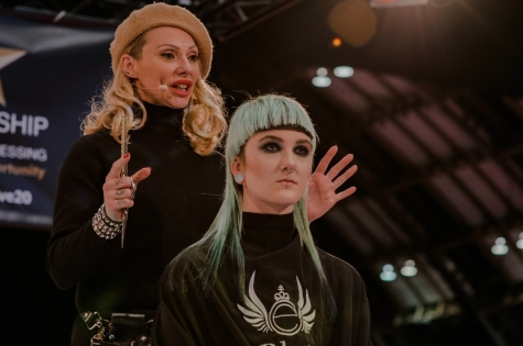Fellowship for British Hairdressing Present for Pro Hair Live 62