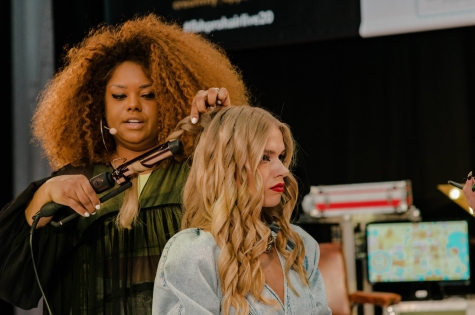 Fellowship for British Hairdressing Present for Pro Hair Live 63