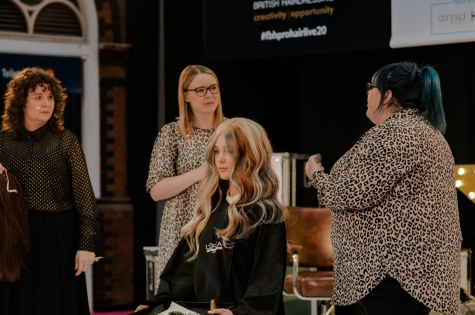 Fellowship for British Hairdressing Present for Pro Hair Live 64