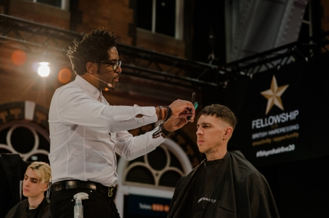 Fellowship for British Hairdressing Present for Pro Hair Live 66