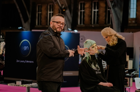 Fellowship for British Hairdressing Present for Pro Hair Live 67