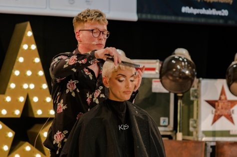 Fellowship for British Hairdressing Present for Pro Hair Live 69