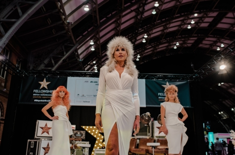Fellowship for British Hairdressing Present for Pro Hair Live 74