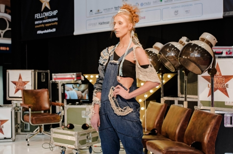 Fellowship for British Hairdressing Present for Pro Hair Live 75