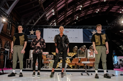 Fellowship for British Hairdressing Present for Pro Hair Live 76
