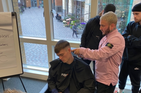 Danny & Co Shares Skills with Project: Men 3
