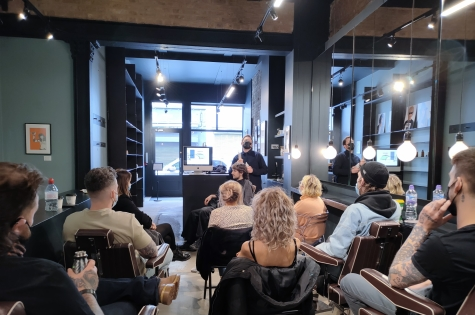 PROJECT: Men attend their first LIVE EDUCATION at Manifesto in London 3