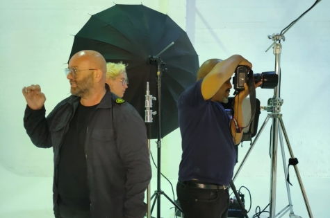 THE PROJECT: MEN TEAM GET THEIR FIRST LIVE PHOTOSHOOT SPONSORED BY WAHL UK 4