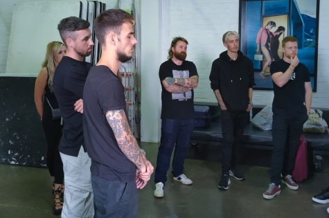 THE PROJECT: MEN TEAM GET THEIR FIRST LIVE PHOTOSHOOT SPONSORED BY WAHL UK 5