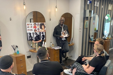 F.A.M.E. TEAM SPEND A WORKSHOP DAY WITH ERROL DOUGLAS MBE AHEAD OF THEIR NEXT PHOTO SHOOT 3