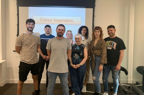 PROJECT COLOUR TEAM DAY WITH PAUL DENNISON MENTOR & PROJECT LEADER 2