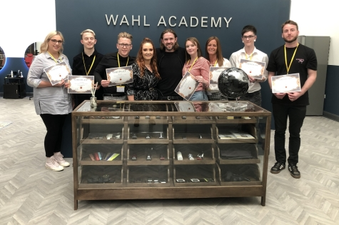 Barber Project Spends Day at Wahl Academy 1