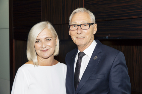 Rainbow Room International Founders Alan and Linda Stewart Awarded an OBE in the New Year's Honours List 1