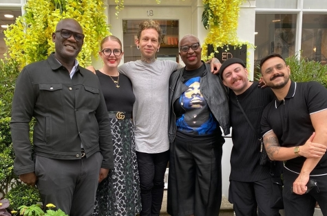 F.A.M.E. TEAM SPEND A WORKSHOP DAY WITH ERROL DOUGLAS MBE AHEAD OF THEIR NEXT PHOTO SHOOT 1