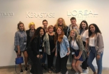 Colour Project Enjoys Day with Carolyn Newman