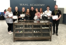 Barber Project Spends Day at Wahl Academy