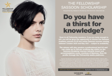 Sassoon Scholarship 2020 open for applications!